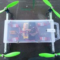 Finito il volo, il drone sta tutto nella sua cassettina