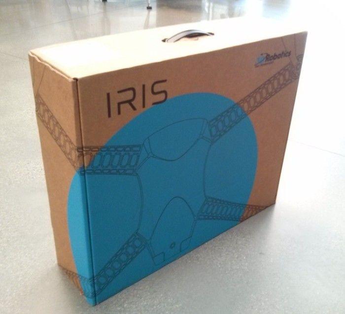 Ecco l confezione dello UAV - photo credit (c) Chris Anderson