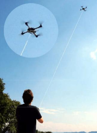 Non è un aquilone ma un drone robot volante
