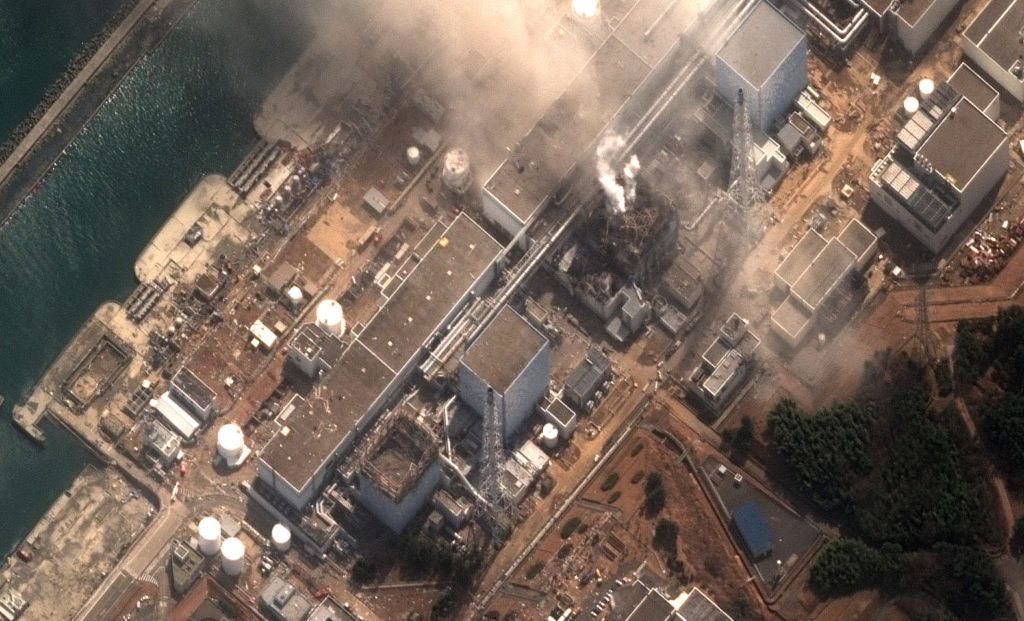 Earthquake and Tsunami damage-Fukushima Dai Ichi Power Plant, Ja