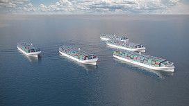 Una flotta di navi robot Rolls Royce