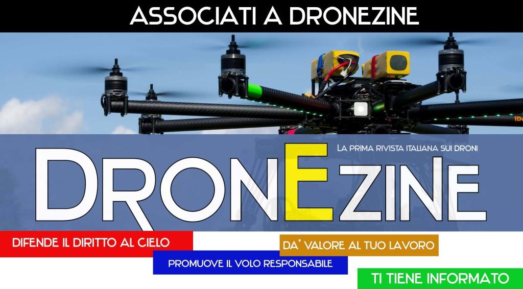 Abbonati a DronEzine la prima rivista italiana sui Droni, SAPR e APR