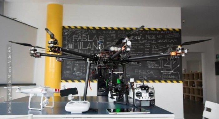 Drone-fablab