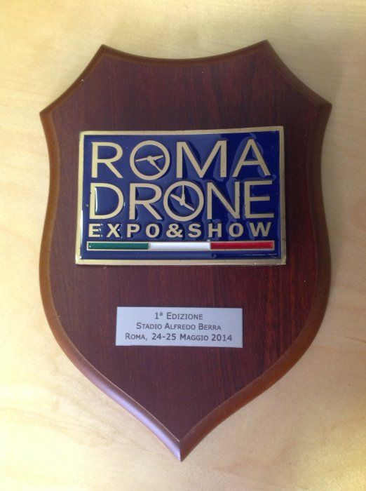 RomaDrone.CrestUfficiale.290514