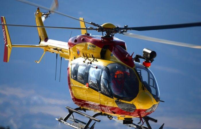 Un Eurocpter EC 145 della protezione civile in Ukraina