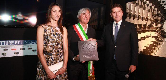Veronica Gaido con Umberto Buratti e Giulio Pastore