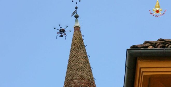 campanile-drone