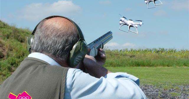 Drone-pigeon-shooting