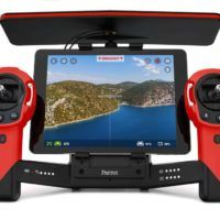 Parrot Skycontroller_Red_Tablet