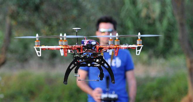 pilota di droni e apr