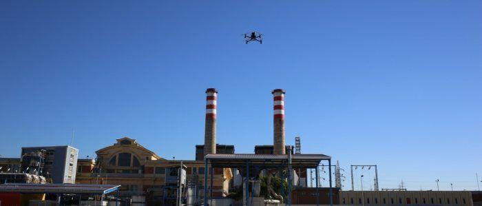 drone anteos aermatica lavori ENEL
