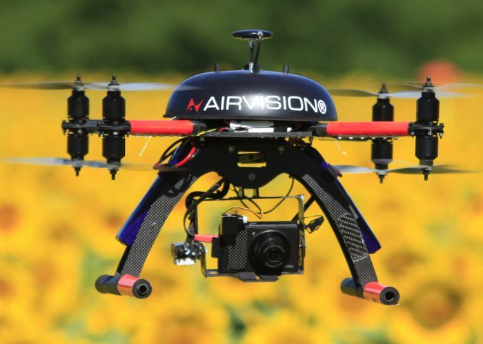 Drone RPAS AirVisione NT4Contras