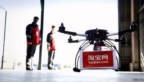 Alibaba consegna pacchi con i droni