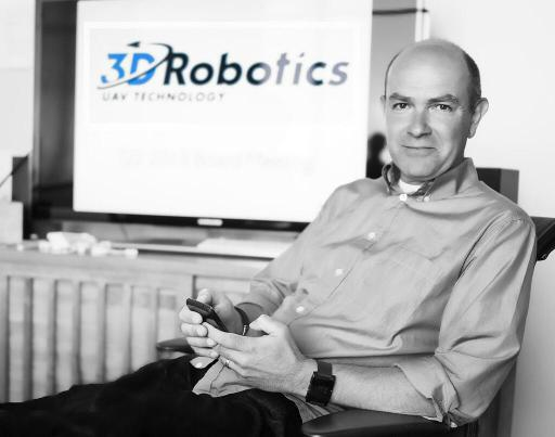Chris Anderson CEO di 3dRobotics