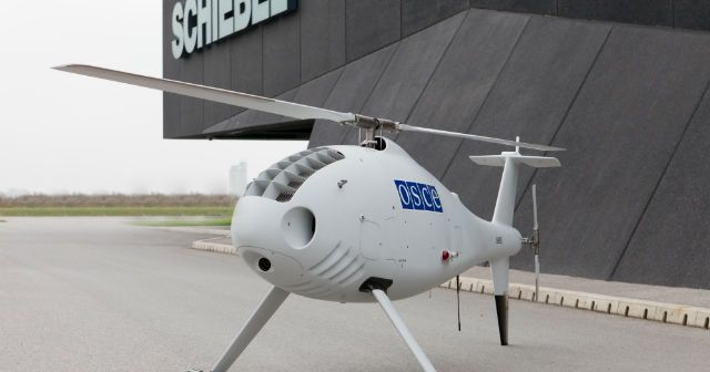 Drone Camcopter S100 in forza al OSCE in Ucraina