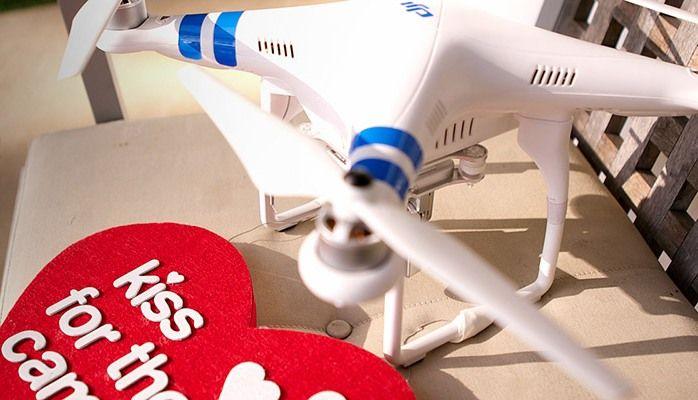 Collegati al sito DJI e vinci un drone pe San Valentino
