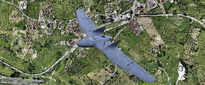 fotogrammetria aerea con i droni