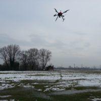 Un primo test in volo