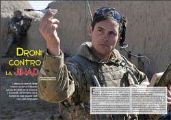 Sul numero atrtuale di DronEzine Magazine abbioamo un interessante articolo del capitano di vascello Marco Bandioli sull'uso dei droni nell'antiterrorismo