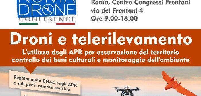 Droni e Telerilevamento