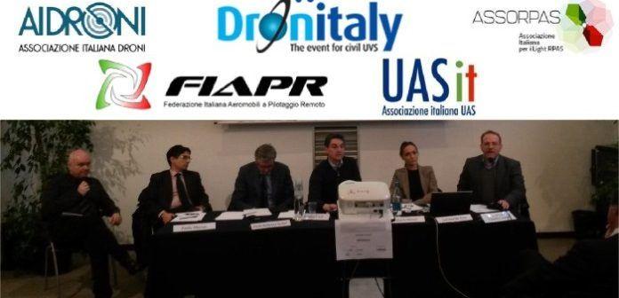Forum permanente associazione di droni