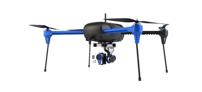 IRIS+ un drone pronto all'uso per impieghi civili