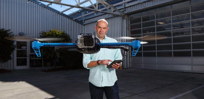 Chris Anderson fondatore di 3DRobotics