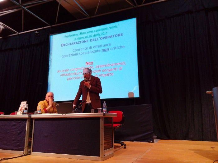 Ing. Delise ENAC al Ferrara Drone Show