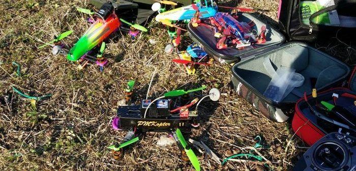 FPV race a Ferrara Drone Show