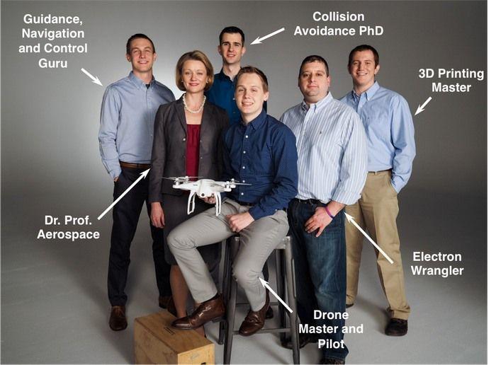eBumper sistema anti collisione per droni