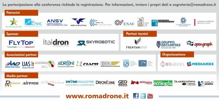roma drone conferenze elenco partner