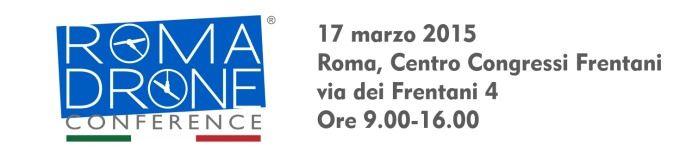 Roma drone conferenze