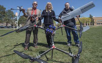 Drone Università Idaho