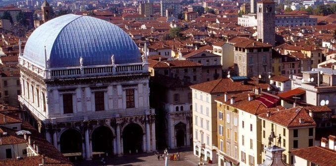 foto aeree ripresa Brescia