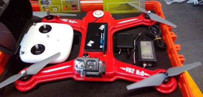 drone anfibio anti spruzzo