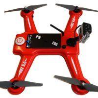 Drone anfibio e antispruzzo