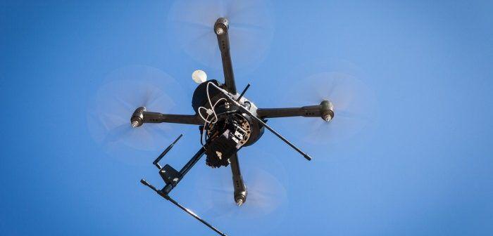 drone utilizzato da polizia in belgio