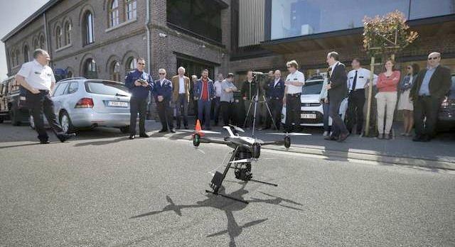 drone UAV Altura Zenith forze di polizia belga