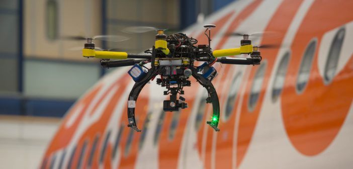 Drones, tracking and virtual reality: At an airport near you