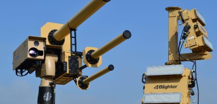 sistema anti UAV e anti drone a radiofrequenza
