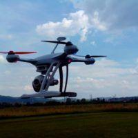 Drone Blade 350 QX3 in volo
