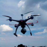 Stabilità volo drone Blae 350 QX3