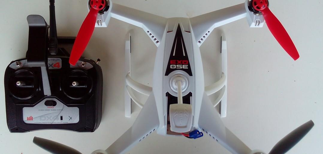 Blade 350QX3 con radiocomando