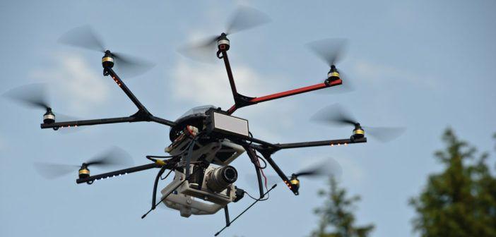 UAV-quadcopter