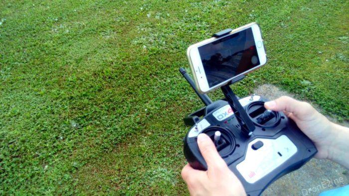 telecomando con supporto smartphone Blade 350QX3