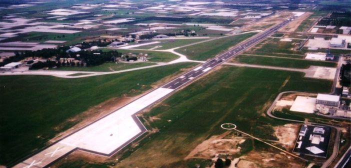 foto aerea aerporto di Griottaglie