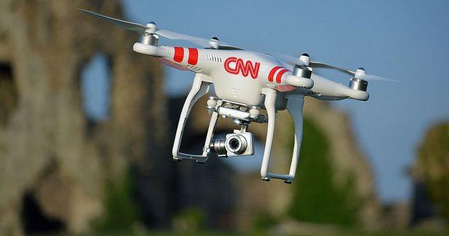 FAA autorizza i droni di CNN a sperimentare in aeree urbane