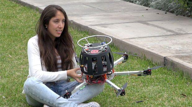 drone rileva inquinamento