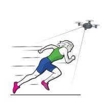 drone camera volante