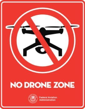 no drone zone, area vietata ai droni a washington dc